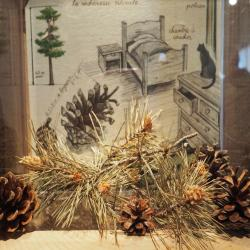 Le musée des bois noirs à Lavoine