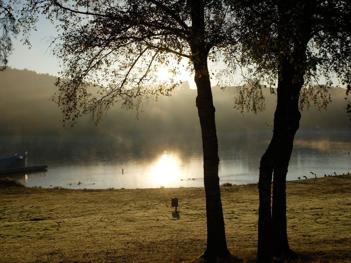 Ce matin là la brume se lève...