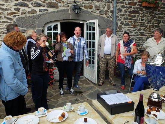 Merci et bravo à Véro, Jean-Paul, Jean-François, Chantal, sans oublier Marie-Christine (qui n'est pas sur la photo)
