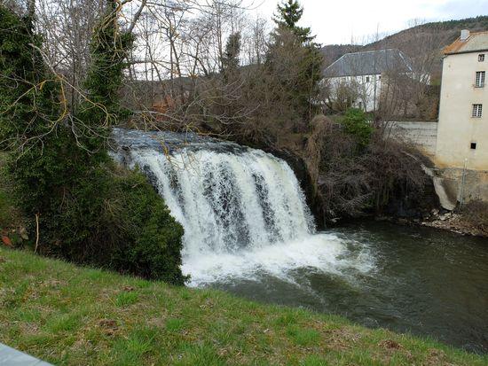 La cascade de Saillant