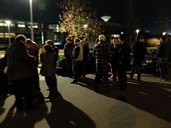 Vendredi soir campus des Cézeaux.