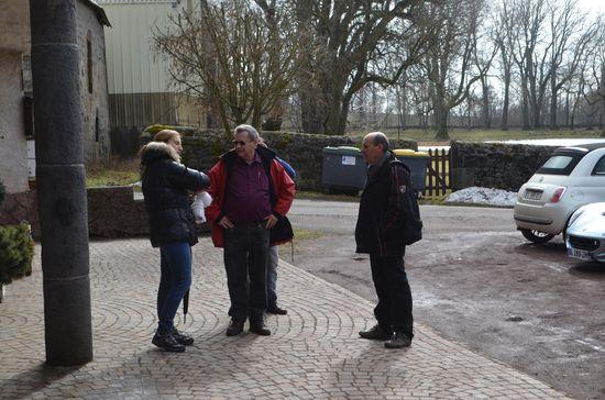Arrivée des participants.