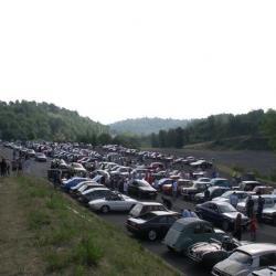 Toutes ces autos ont traversé Clermont.