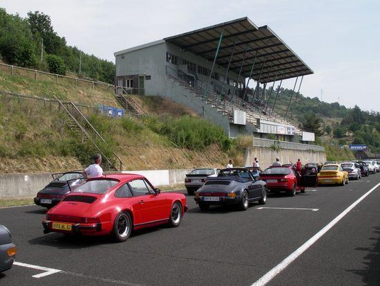 René au départ du tour Porsche